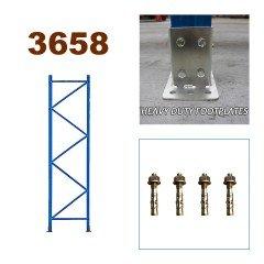 Pallet Racking Upright Frame 3658mm