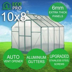 EcoPro 6mm Greenhouse 10 x 8ft