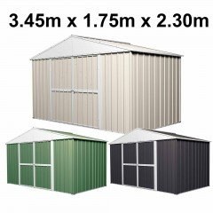 Garden Shed 3.45m x 1.75m x 2.30m High Roof